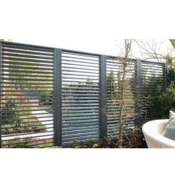 Ongekend Hillhout Scherm vuren shutters 90x180 cm | Schutting tuin, Tuin KF-75