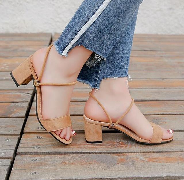 4a8638839a23b High Heels Shoes Women Fashion Shoes Sandals Pumps Summer Sexy Black Heels  Ladies Shoes Casual Women