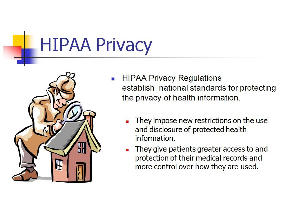 HIPAA law https://www.upcounsel.com/hipaa-law