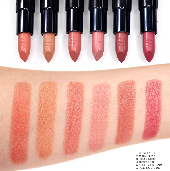 fb2c0f0f Givenchy Rouge Interdit Lipstick Swatches | Givenchy | Lipstick ...
