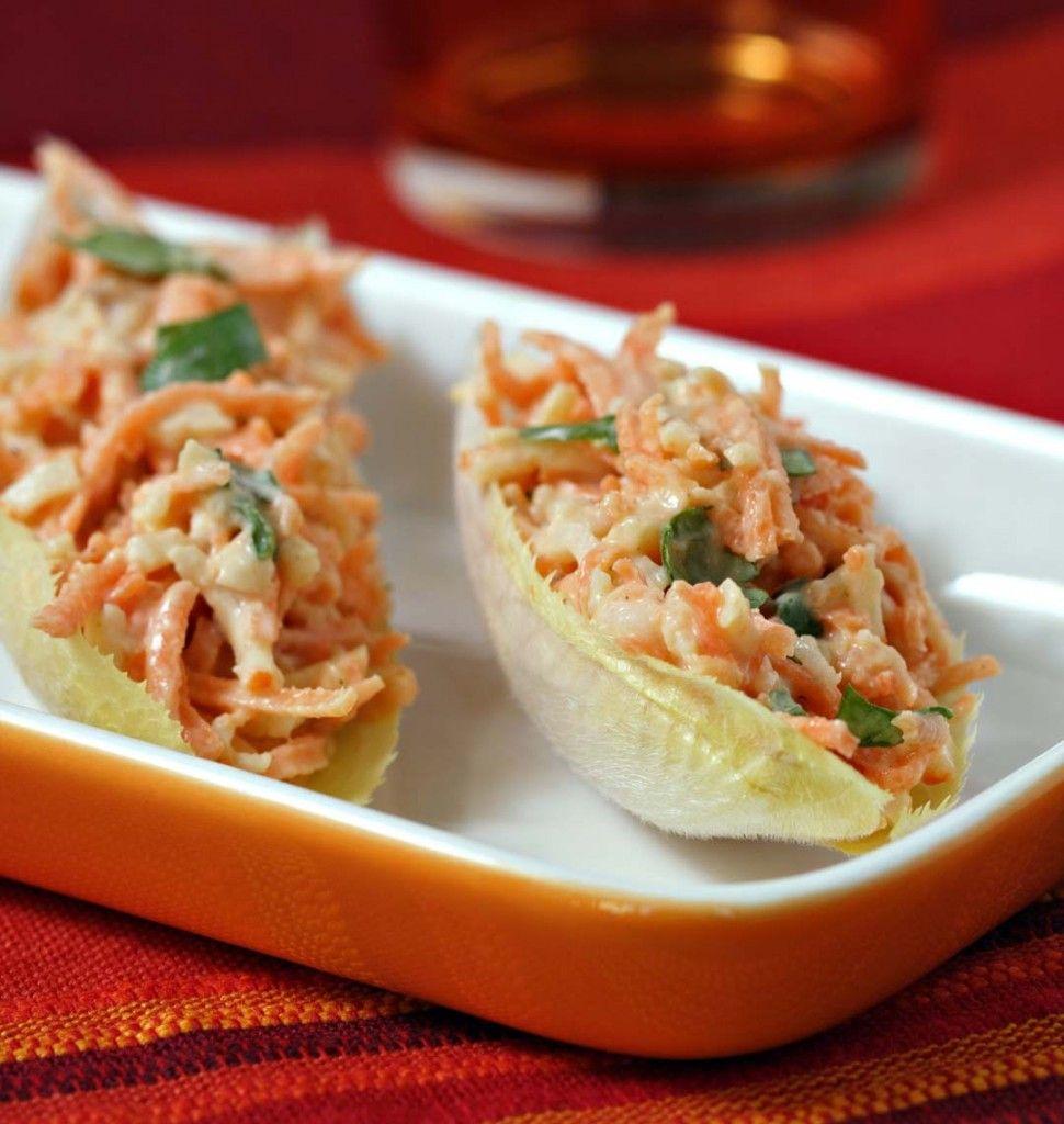 Endives farcies aux carottes et surimi - Ôdélices : Recettes de cuisine faciles et originales !