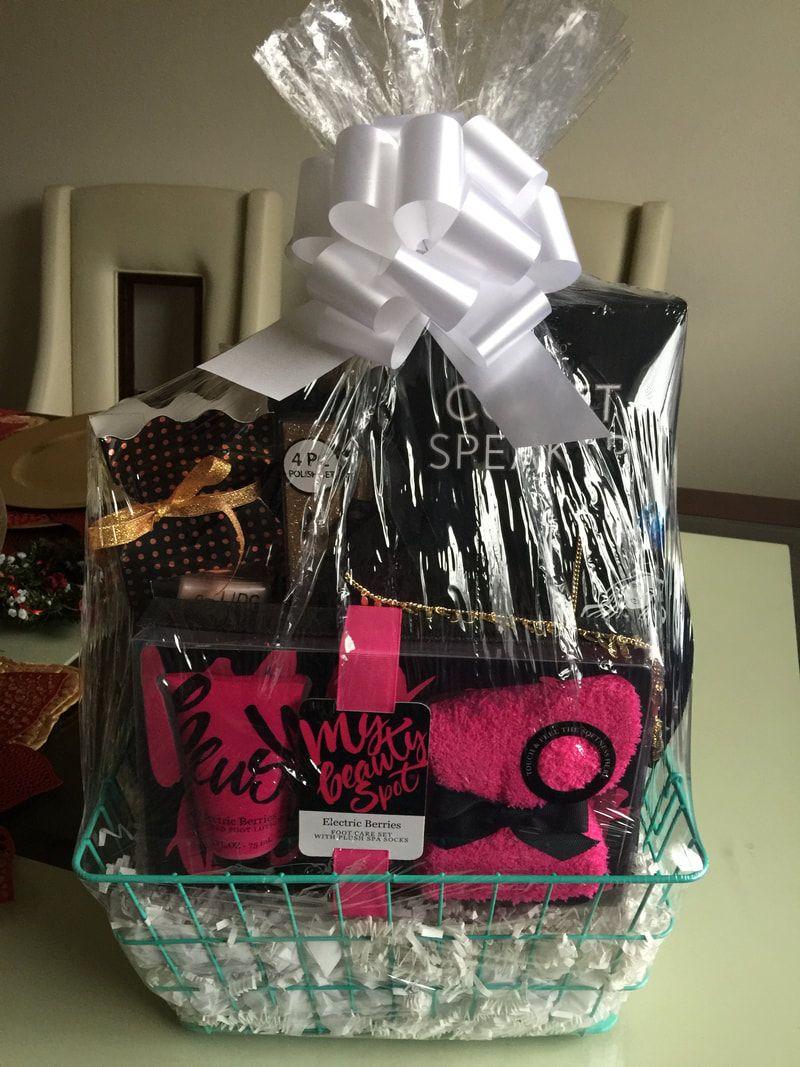 Primp and Pamper gift basket, Spa Gift basket, Teen Gift Basket ...