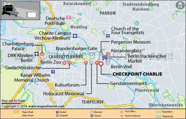 Checkpoint Charlie in Berlin Germany Photos Reviews Location
