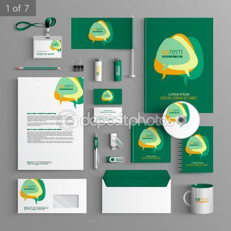 Descargar - Identidad corporativa. plantilla editable identidad ...