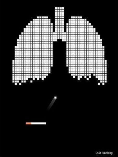 27 impactantes campanhas anti tabagismo - 27 impactantes campanhas anti fumo. O objetivo é conscientizar as pessoas dos males que o cigarro faz - não só para quem fuma, mas também para as pessoas em sua volta.