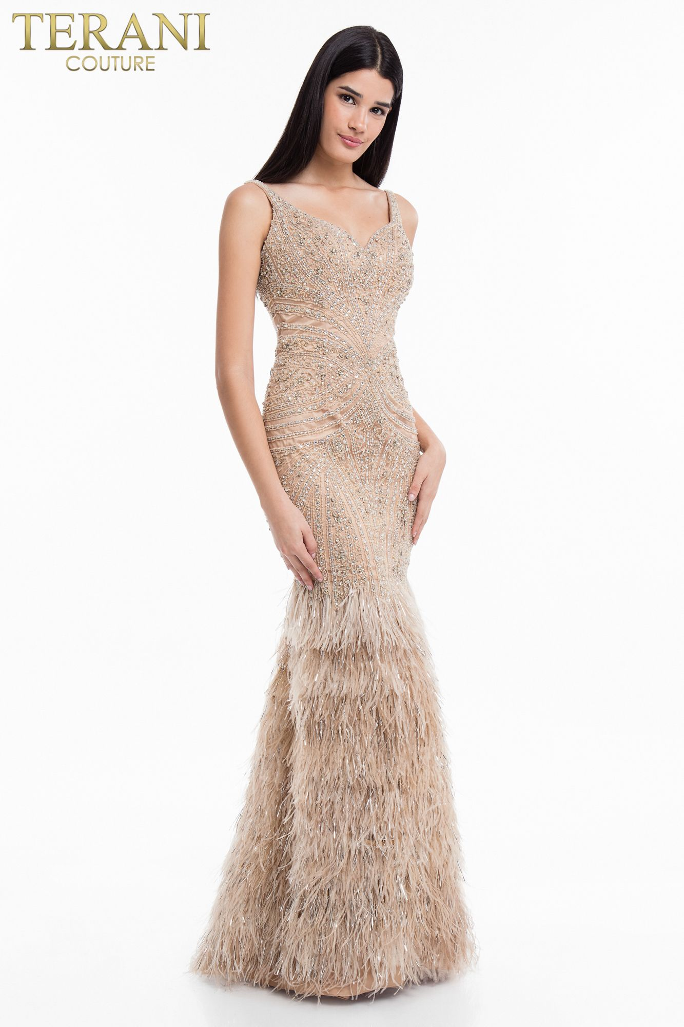 1811GL6474 | Carmen carrera, Terani couture, Couture fashion