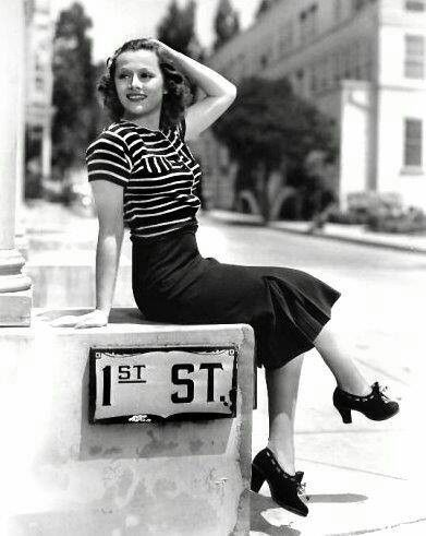 1940 style- when a woman dressed like a woman should! Classy not trashy!!!