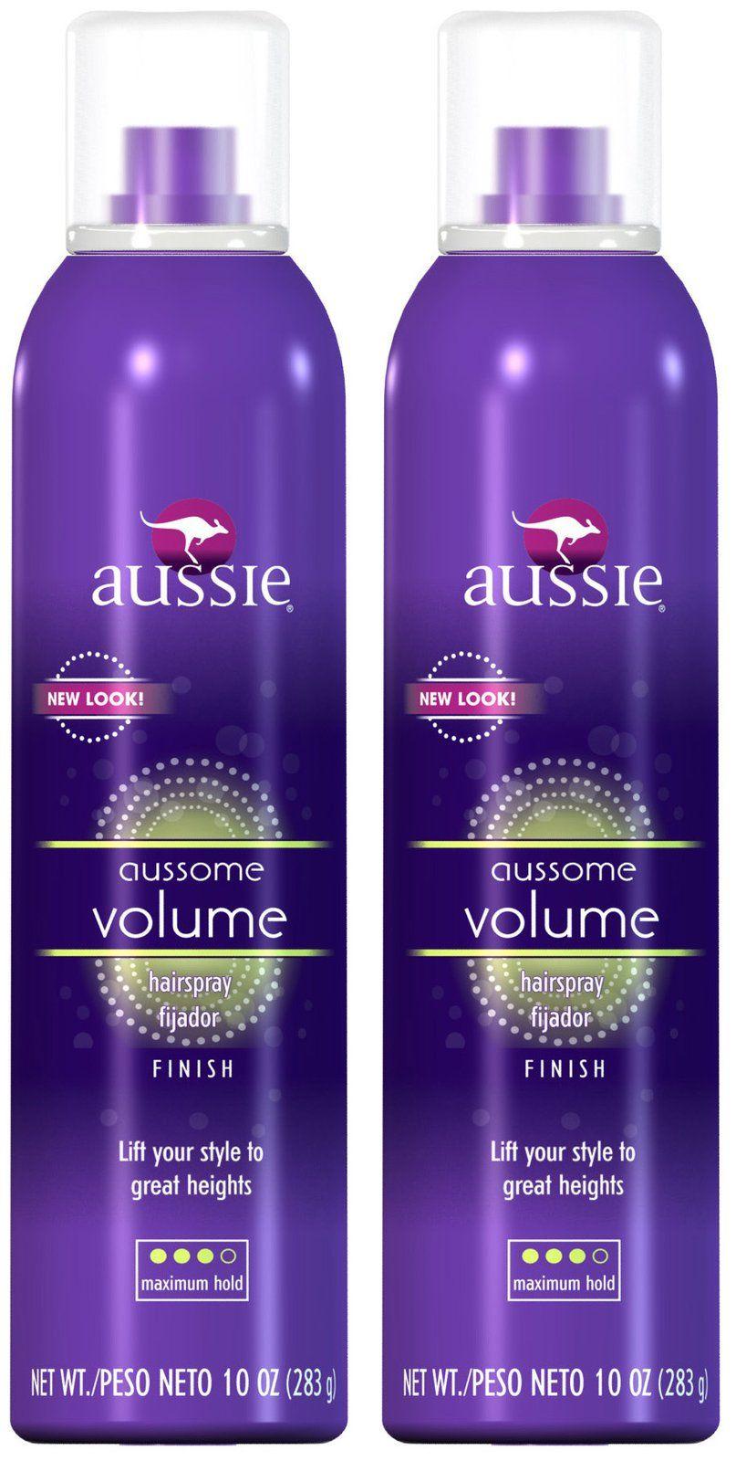 Aussie Aussome Volume Aerosol Hair Spray Hair Volume Spray Aussie Hair Products Hairspray
