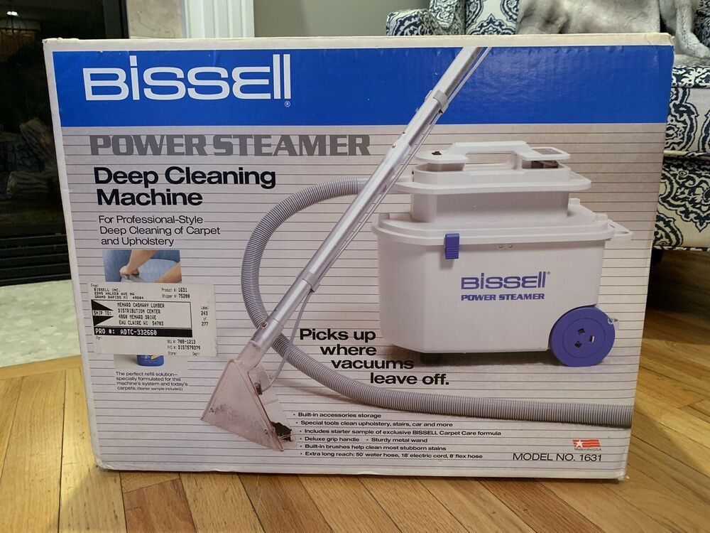 New Bissell Power Steamer Deep Cleaning Machine Carpet