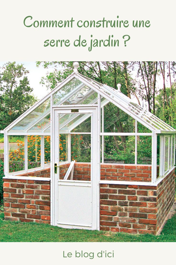 Vous souhaitez installer une serre de jardin pour prot ger - Comment monter une serre de jardin ...