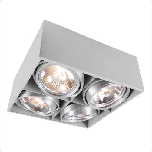 Opbouwspot | Lightbox | spots - Verlichting en Voor het huis