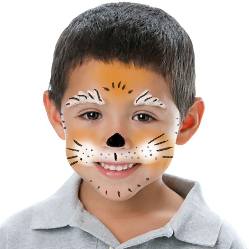 Modele maquillage halloween enfant maquillage enfant coccinelle plus sortie avec les enfants - Maquillage loup facile ...