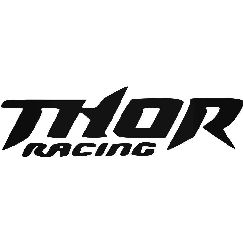 Thor racing logo vinyl decal sticker ballzbeatz com