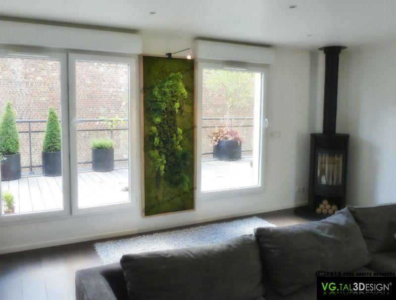 Pingl par val rie lebrun sur mur v g tal pinterest - Wohnzimmer pflanze groay ...