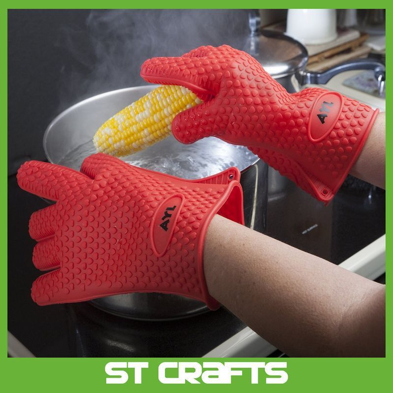 New products private label Heat resistant Silicone bbq grill gloves, View Silicone bbq grill gloves, STcrafts Product Details from Xiamen Situ Crafts Co., Ltd. on Alibaba.com