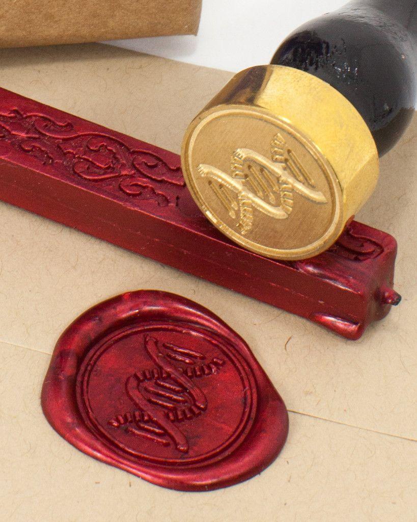 DNA Helix Wax Seal Kit | Pinterest | Wax seals, Wedding themes and ...