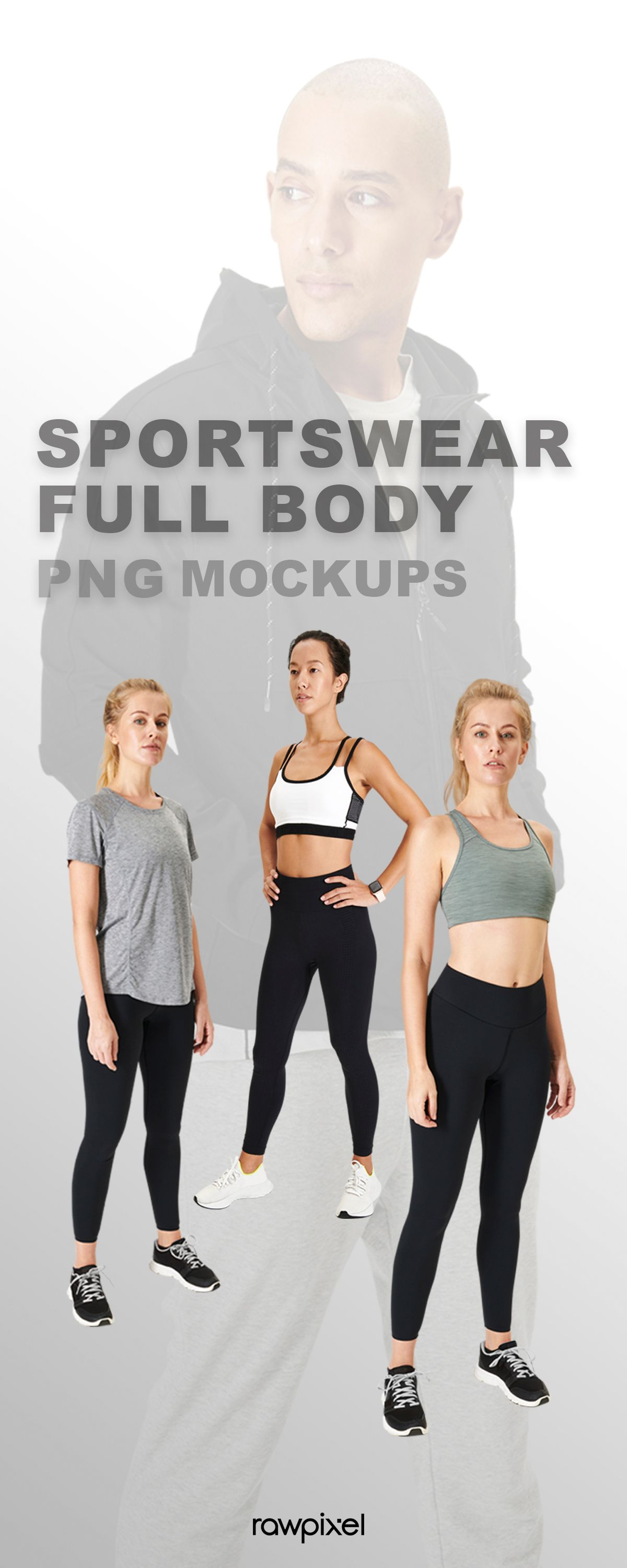 Download High Resolution People Sportswear Apparel Fashion Mockups And Stock Photo Set Clothing Mockup Stock Photos Royalty Free Stock Photos