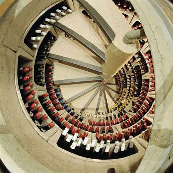 Drunken Design 10 Intoxicating Designer Bar Accessories Wine Cellar Design Spiral Wine Cellar Cellar Design