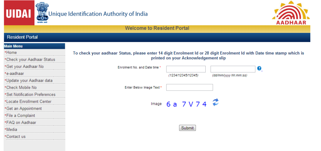 How to Check your Aadhar Card Status Online Track Your