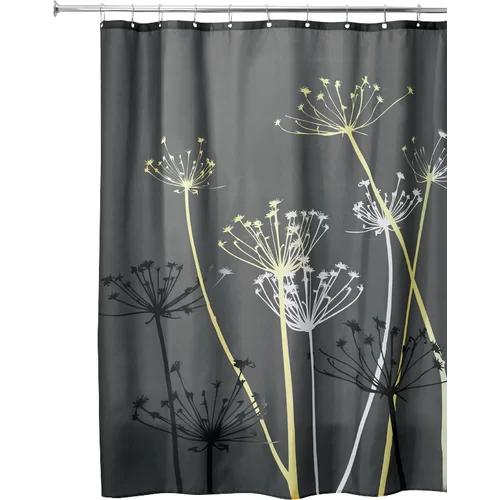 Wunsch Single Shower Curtain Gray shower curtains