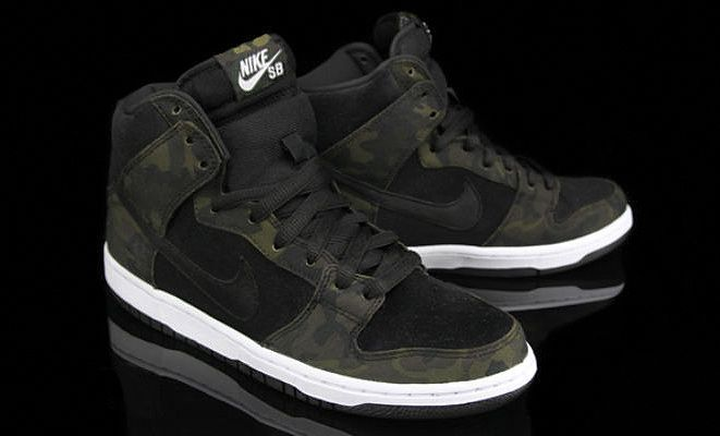 the best attitude 32a19 0c08f NIke SB Dunk High Pro Iguana/Black | Sneakers I Want | Sneakers nike ...