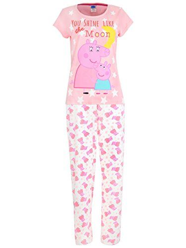 Pink PJ Gown Peppa Pig Nightgown For Toddlers Soft /& Warm Sleepwear