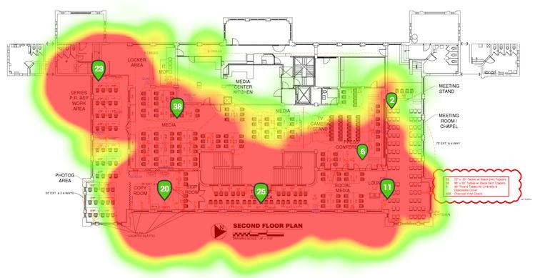 Wi-Fi干渉のイメージ