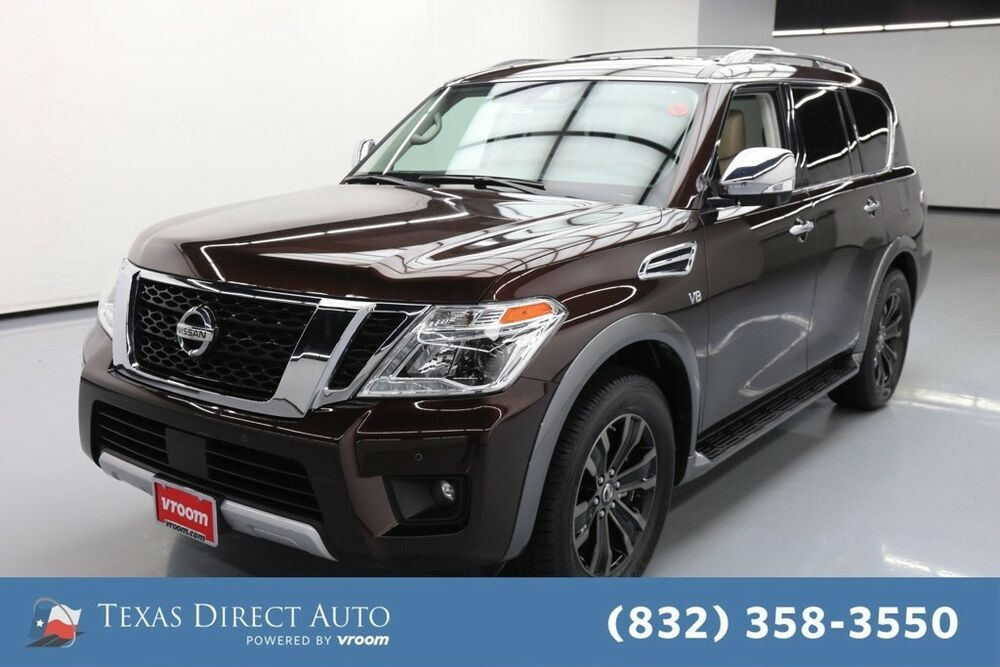 For Sale 2018 Nissan Armada Platinum Texas Direct Auto