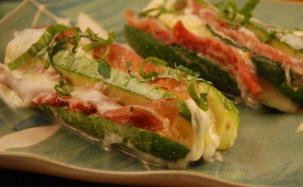 Courgettes bayadere zucchini with prosciutto mozzarella in courgettes bayadere zucchini with prosciutto mozzarella in recipes on the food channel forumfinder Gallery