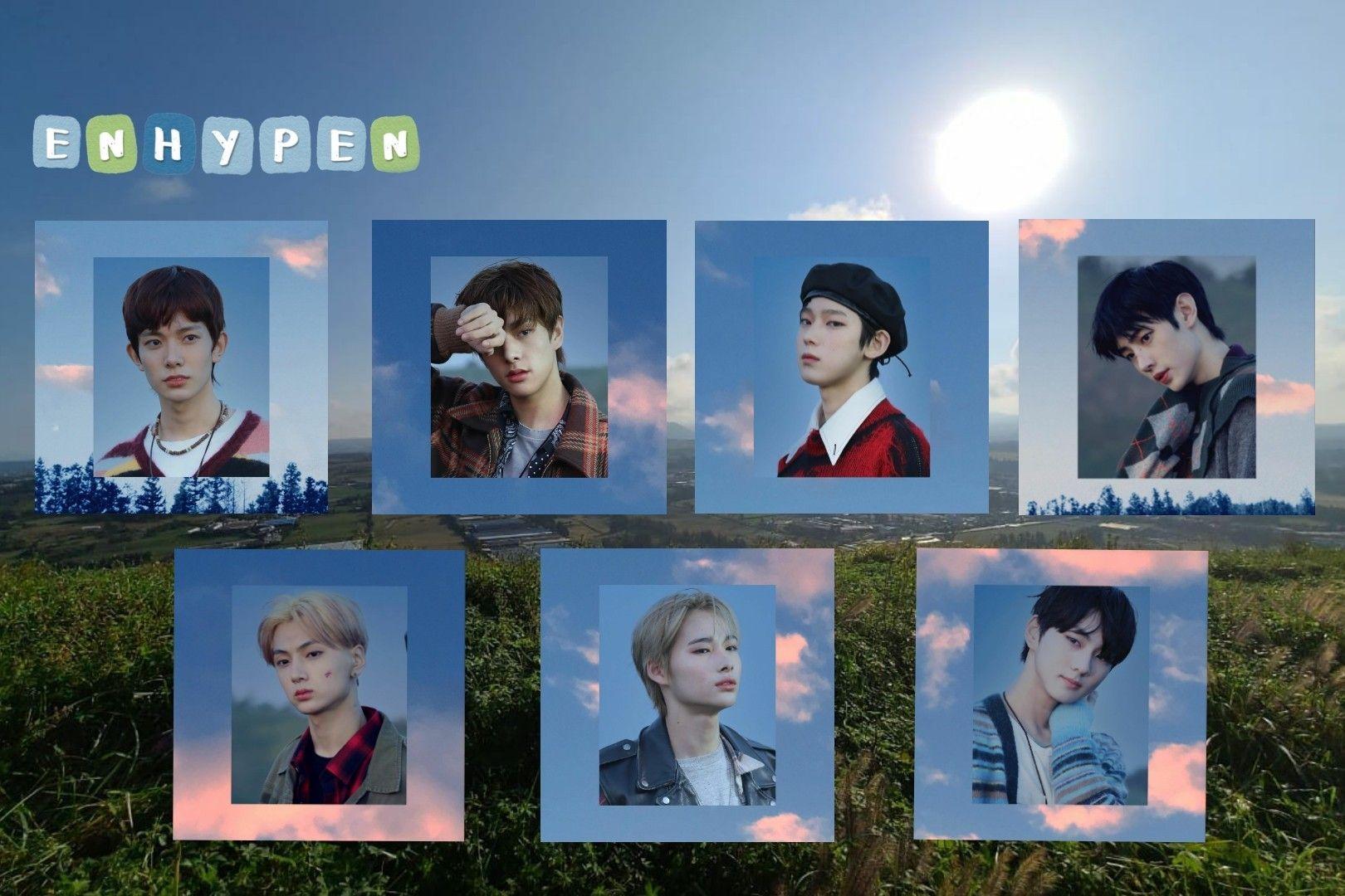 Enhypen Di 2021 Lagu Selebritas Enhypen wallpaper desktop hd