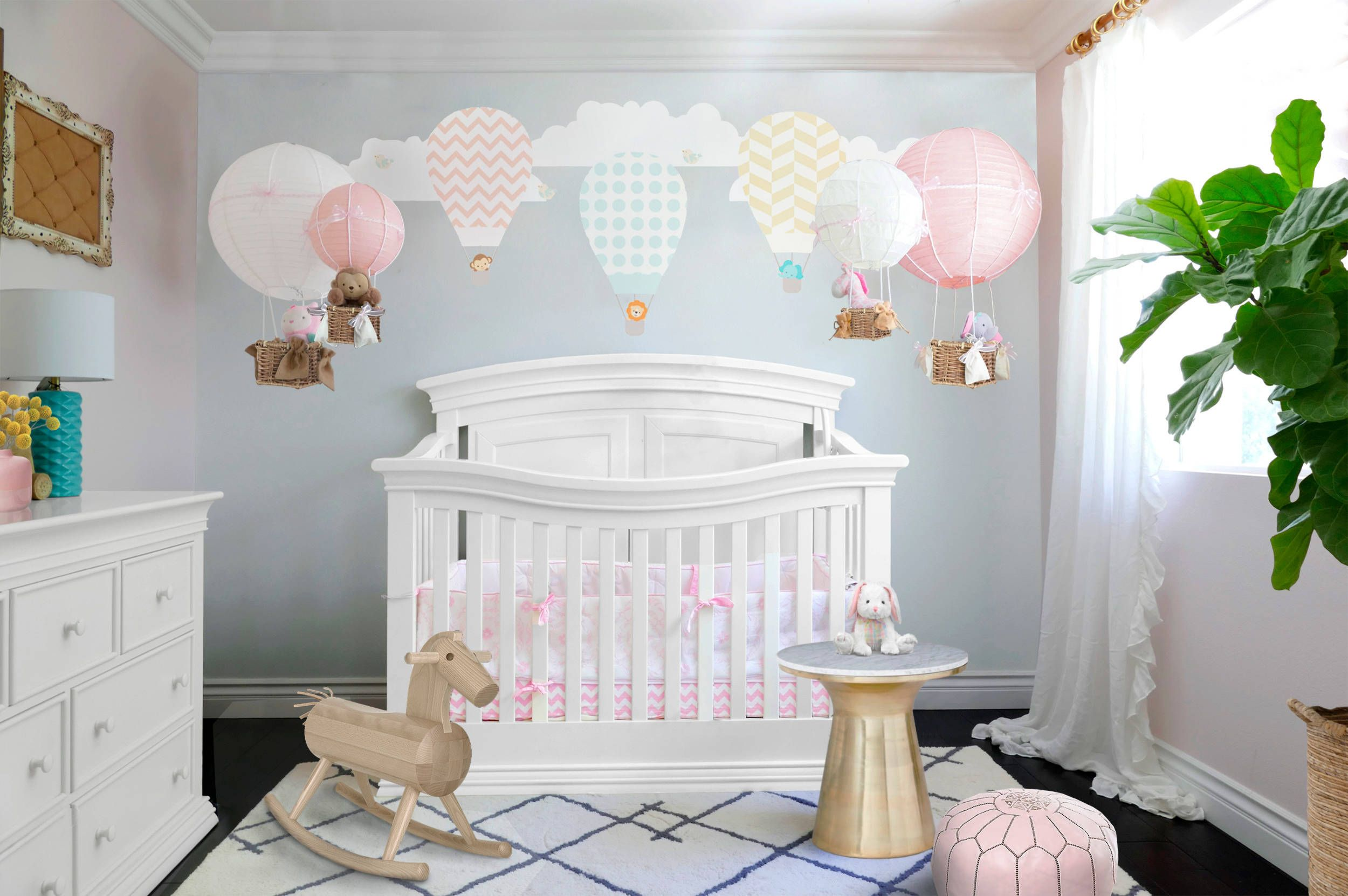 Hot Air Balloon Girl nursery Inspiration girlnursery