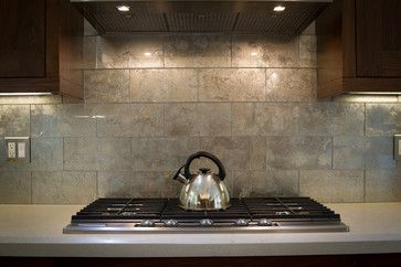 Metallic Glass Tile Backsplash For The Kitchen Ann Sacks Lucian