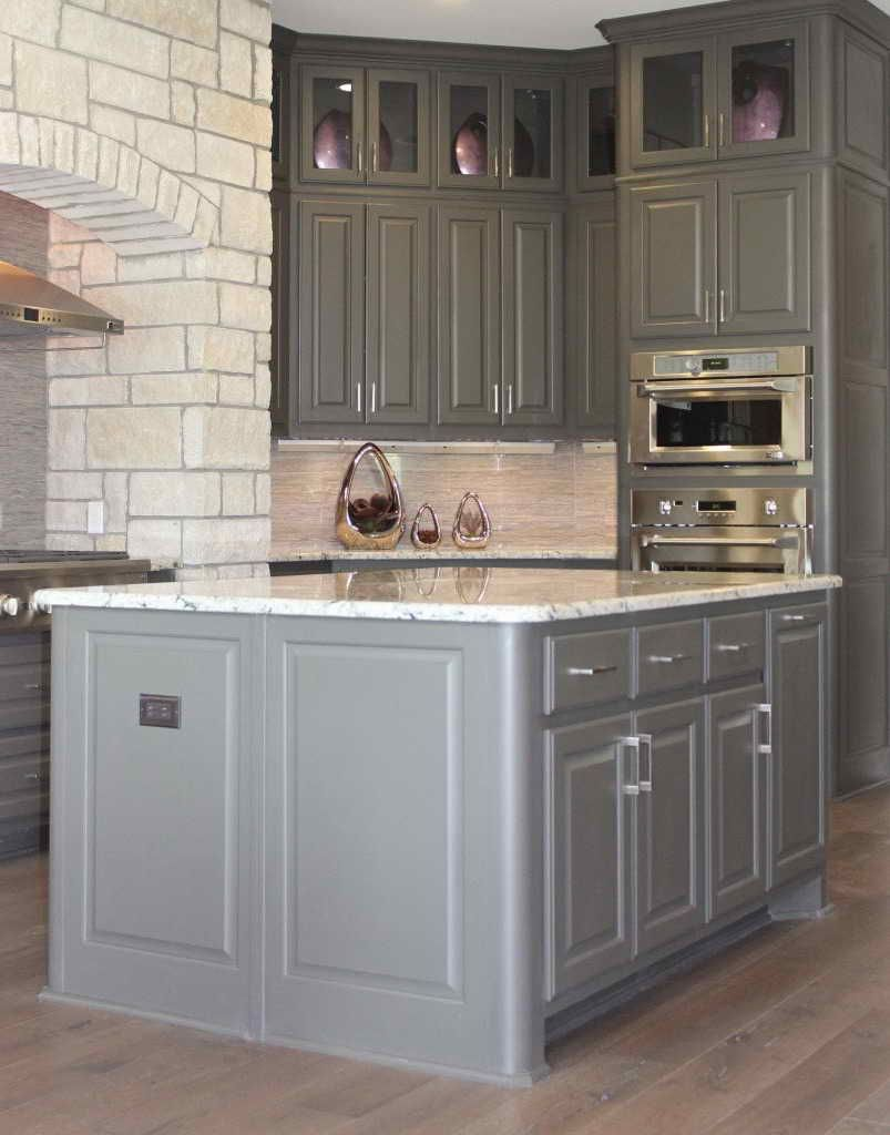 Rounded Edge Kitchen Cabinets