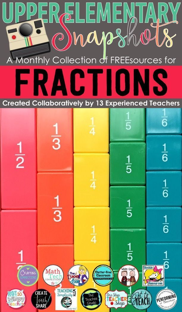 Free math resources covering FRACTIONS created by the teachers at ...