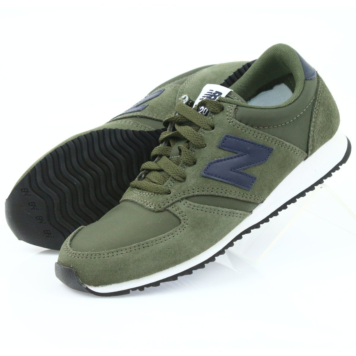 New Balance U420jde Covert Green Pigment Jade Zielone Granatowe Stylish Sneakers Sport Shoes Women New Balance