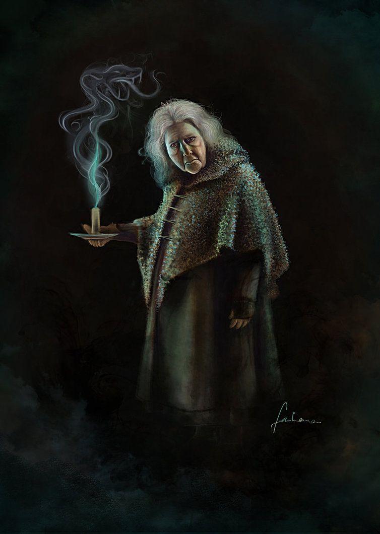 Bathilda Bagshot By Dewmanna On Deviantart Harry Potter Fan Art Bagshot Harry Potter Art