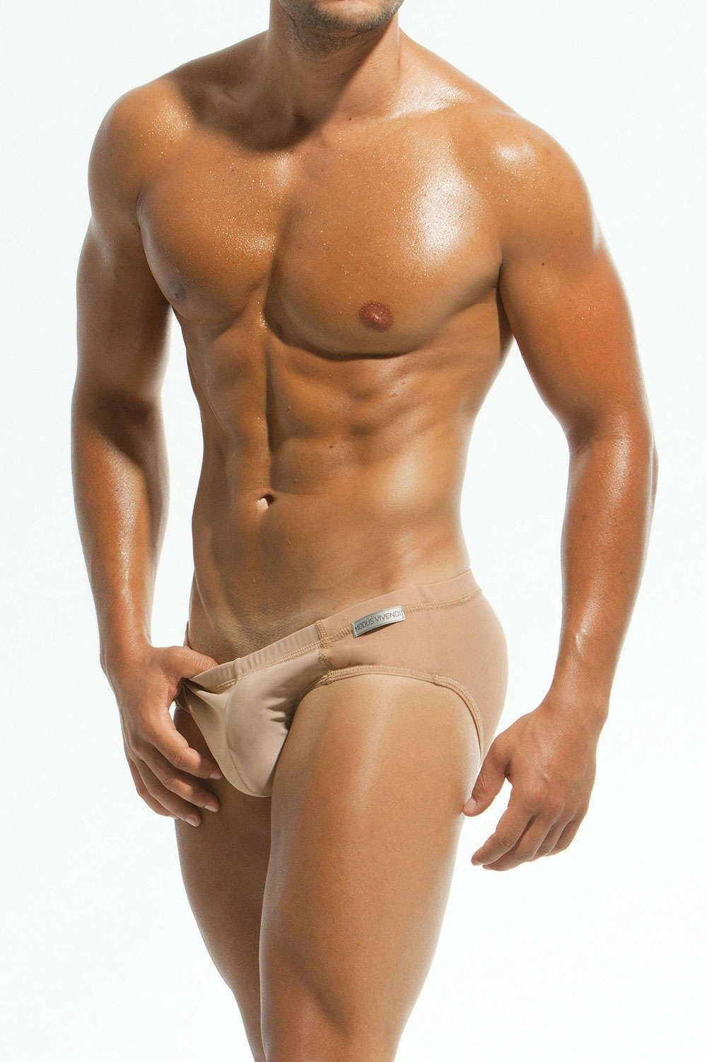 235ca874453f32 The skintone fashion for men started in male underwear and has moved  swiftly on to swimwear