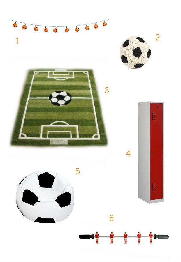Top 6x stoere voetbalaccessoires voor in de kinderkamer   jongens @LZ61