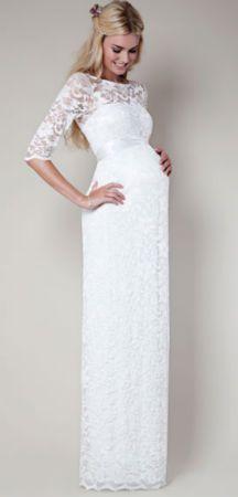 f20bb5170 Vestidos de novia para embarazadas
