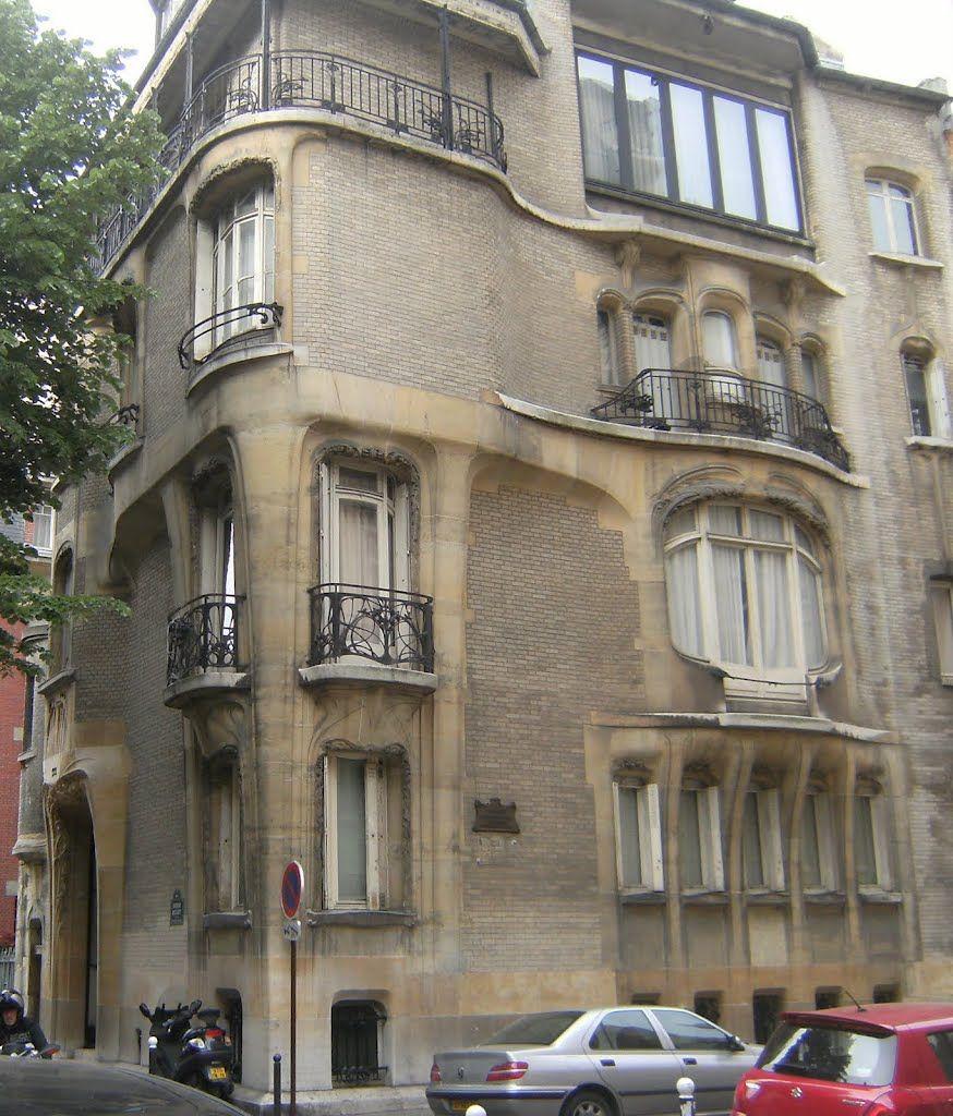 Hotel Guimard In 122 Avenue Mozart 1910 - Hector