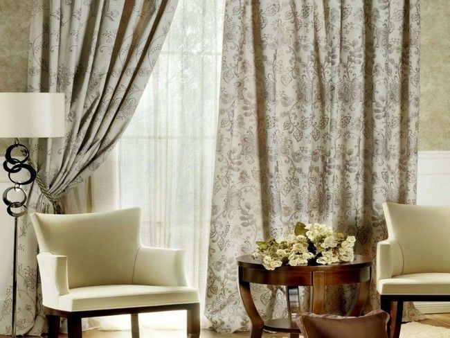 Living Room Curtains Houzz