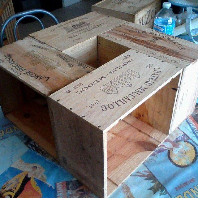rsultat de recherche dimages pour table basse caisse - Table Basse En Caisse En Bois