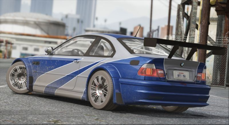 Bmw M3 Gtr E46 Nfs Mw 4k Livery Add On Gta5 Mods Com Com