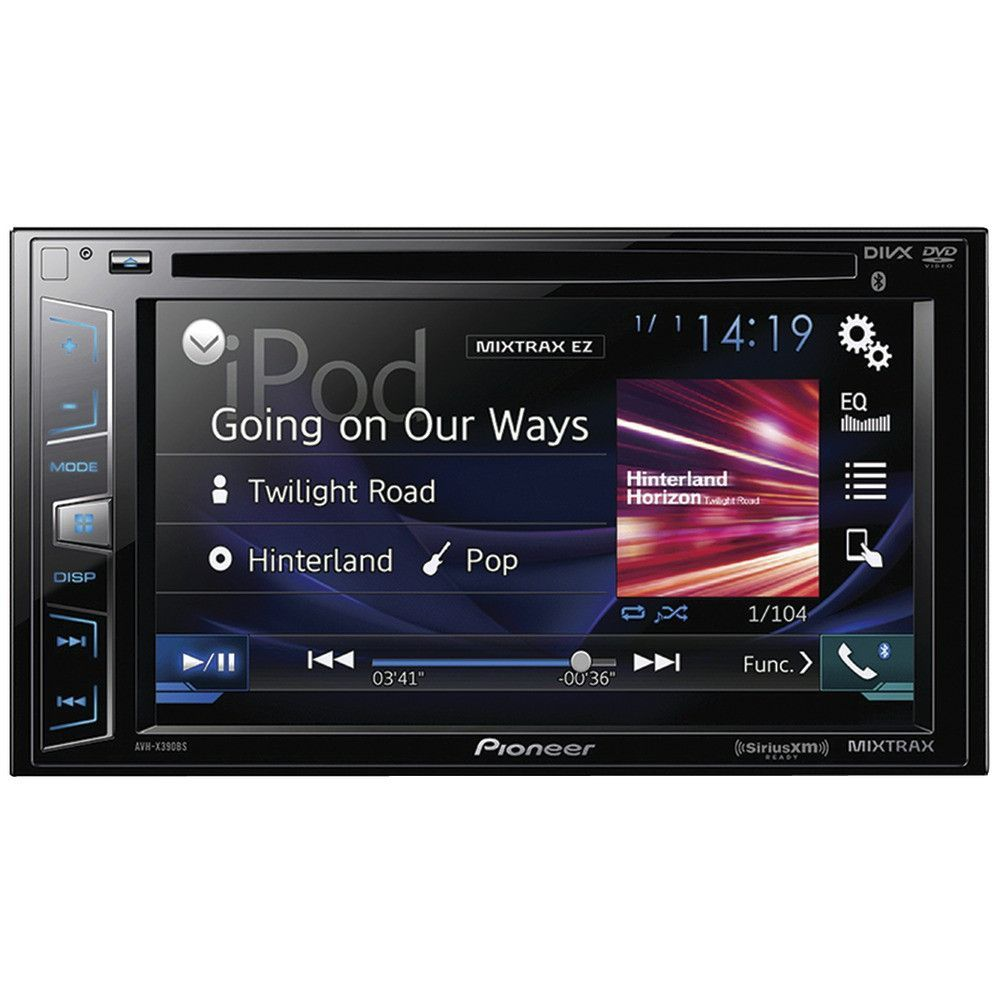 "Pioneer 6.2"" Double-din In-dash Dvd Receiver With Bluetooth & Siriusxm Ready"