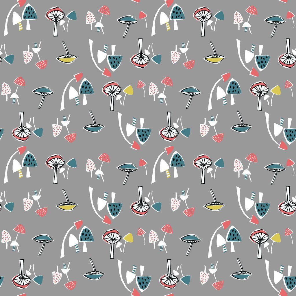 Mushrooms Knit - Anya by Monaluna - Organic Cotton Knit (6006.24.00.00)