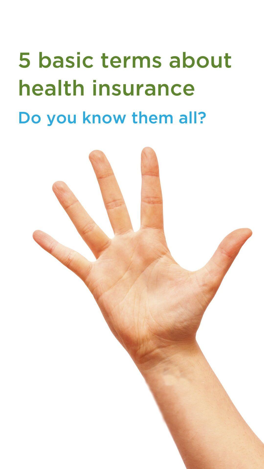 Do you know the basics? #healthinsurance # ...