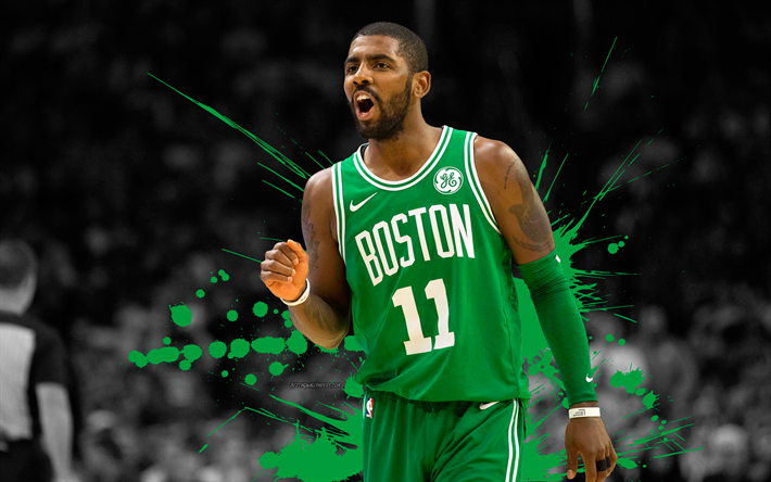 Download wallpapers Kyrie Irving, 4k, basketball players