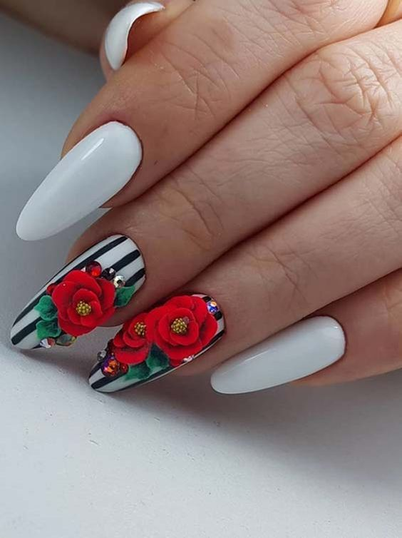 Modern Ideas Of Nail Arts And Designs For Women 2018