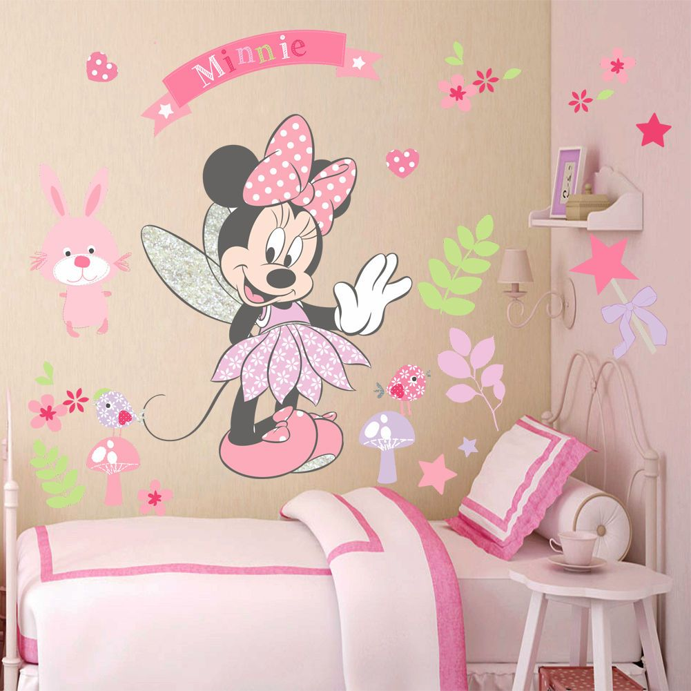 Minnie Mouse Party Wall Decorations Minimalist Home Design - Vinyl wall decals home party