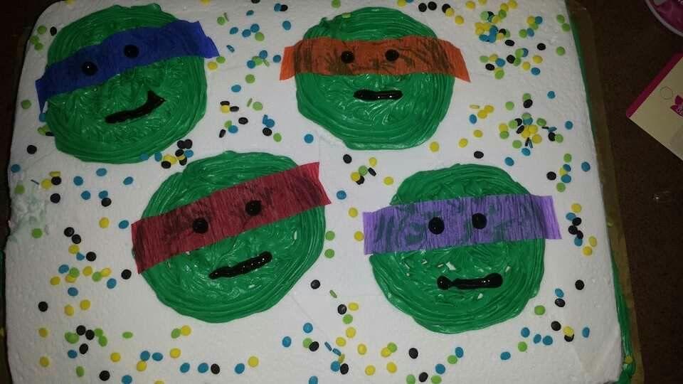 Another Ninja Turtle Cake